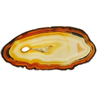 Exclusive agate slice L220*B100*H6,5mm