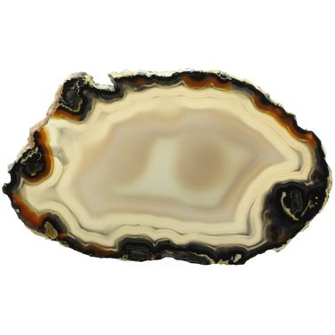 Exclusive Agate Slice L190*B110*H6mm